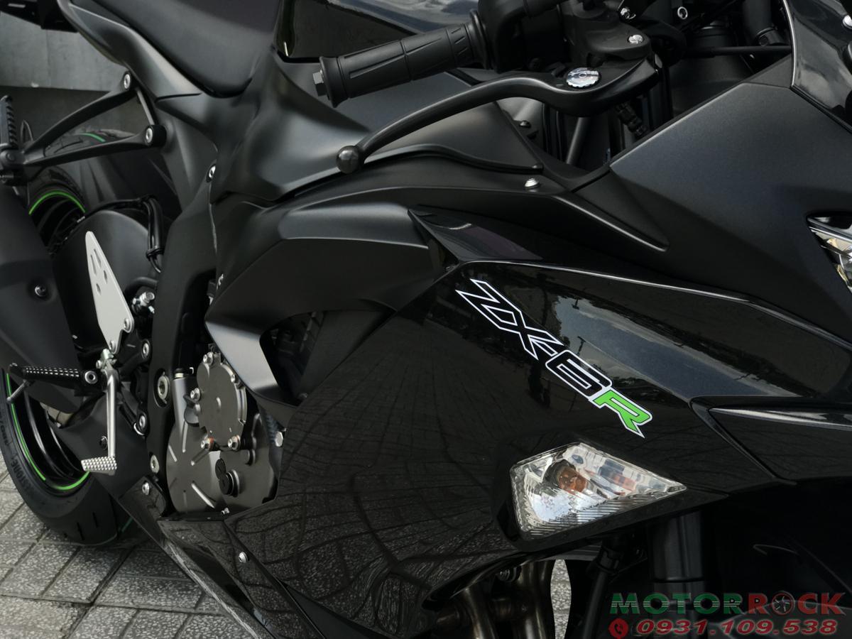 Kawasaki ZX6R 2019 Đen