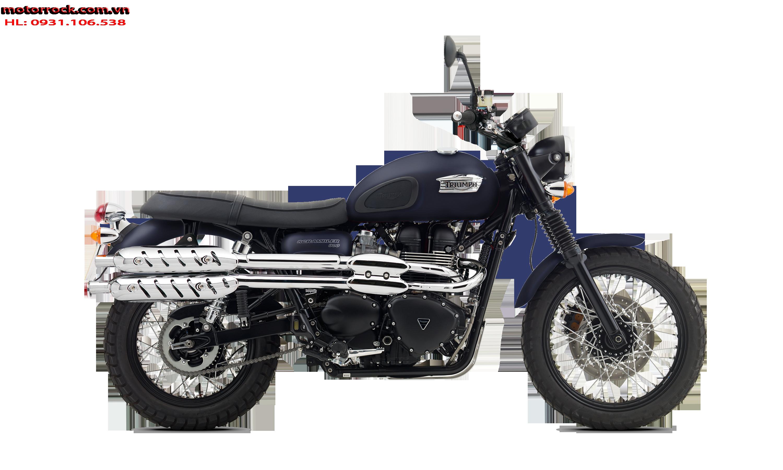 motorr Triumph dòn naked Retro
