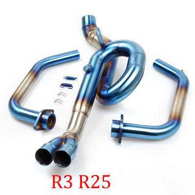 Cổ pô Yamaha R25-R3 nhập khẩu chính ngạch