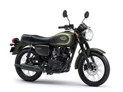 Kawasaki W175 SE Green Moss nhập khẩu chính ngạch
