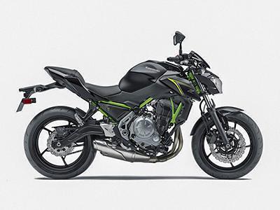 Moto Kawasaki Z650 2018 Đen