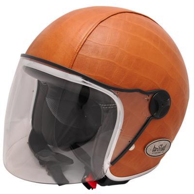 Mũ bảo hiểm phản lực Zeon Vintage Crocco Cuoio