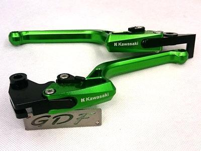 Tay côn thắng 6 số Kawasaki màu xanh lá