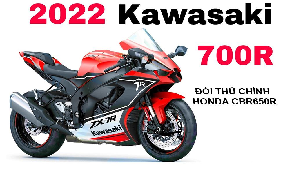 Kawasaki Ninja 700R 2022