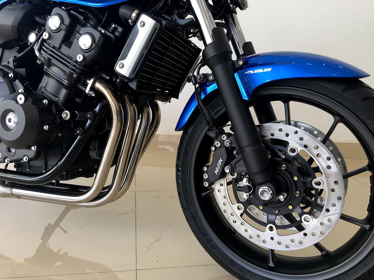 Honda CB400SF màu xanh